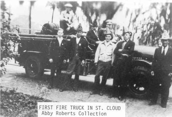 First Fire Engine