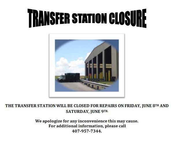 Transfer Station Closure