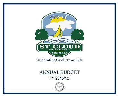 FY15-16 City of St. Cloud Budget